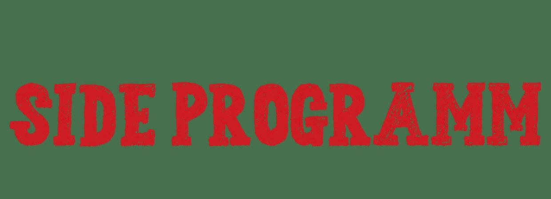 Schriftzug Side Programm