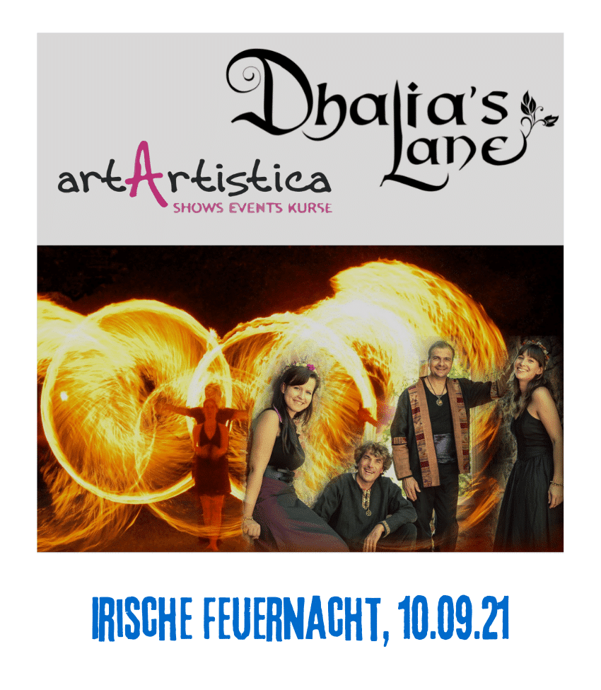 Spielplatz der Kulturen - Programmpunkt Irische Feuernacht 10.09.21