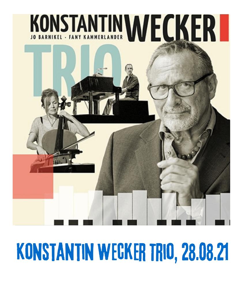 Spielplatz der Kulturen - Programmpunkt Konstantin Wecker Trio