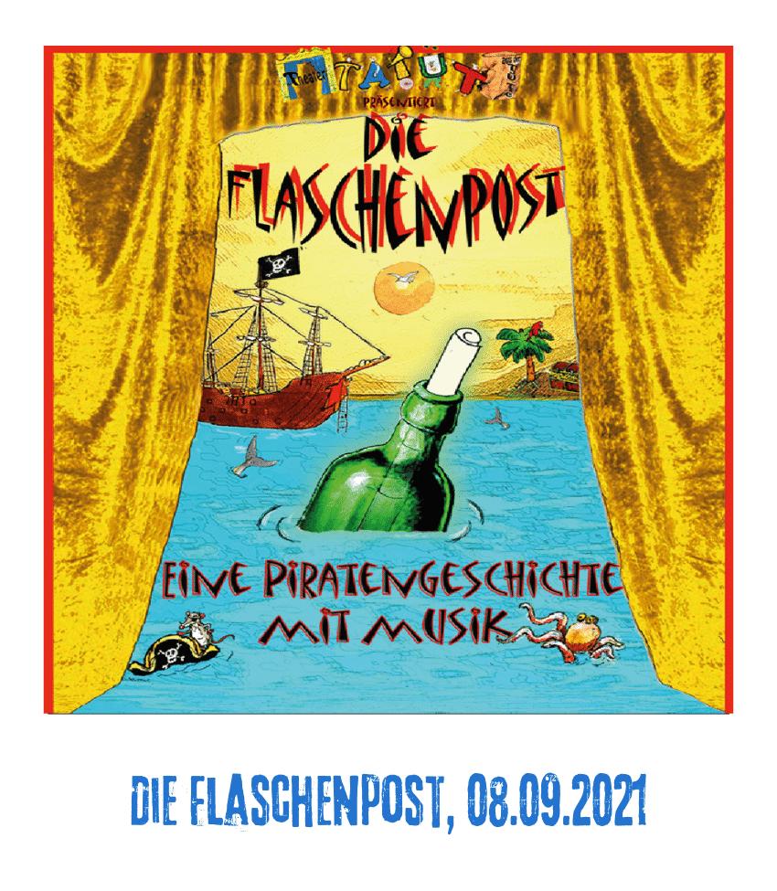 Spielplatz der Kulturen - Programmpunkt - Die Flaschenpost, 08.09.21