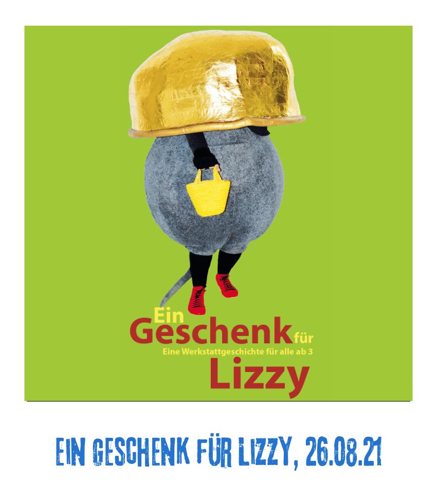 Spielplatz der Kulturen - Programmpunkt - Geschenk für Lizzy - 26.08.21
