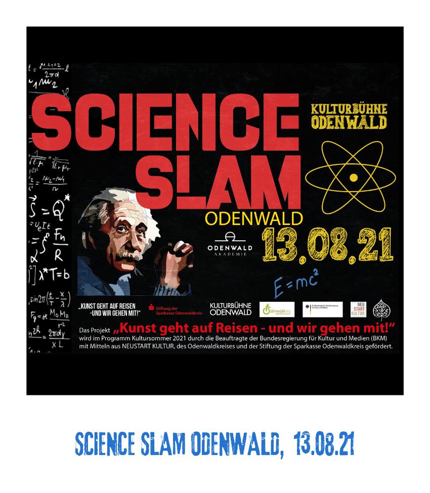 Spielplatz der Kulturen - Programmpunkt - SIENCE SLAM ODENWALD