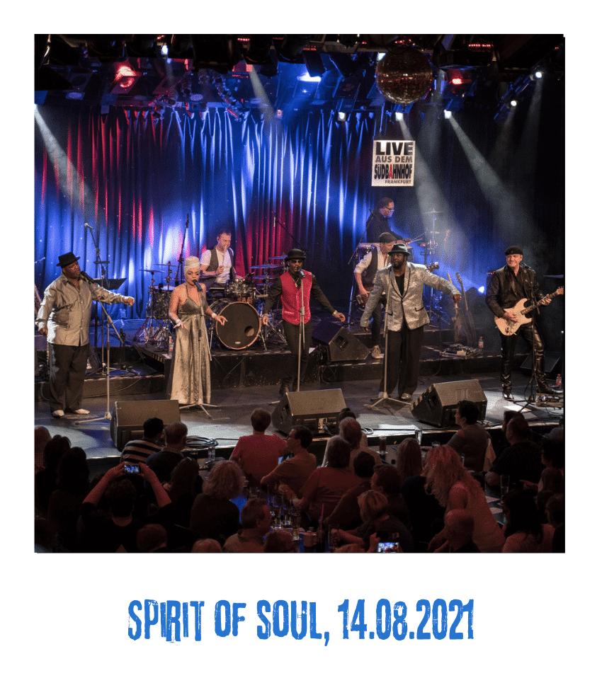 Spielplatz der Kulturen - Programmpunkt - Spirit of soul- 14.08.21