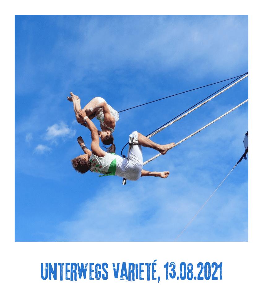 Spielplatz der Kulturen - Programmpunkt - Unterwegs Varieté - 13.08.21