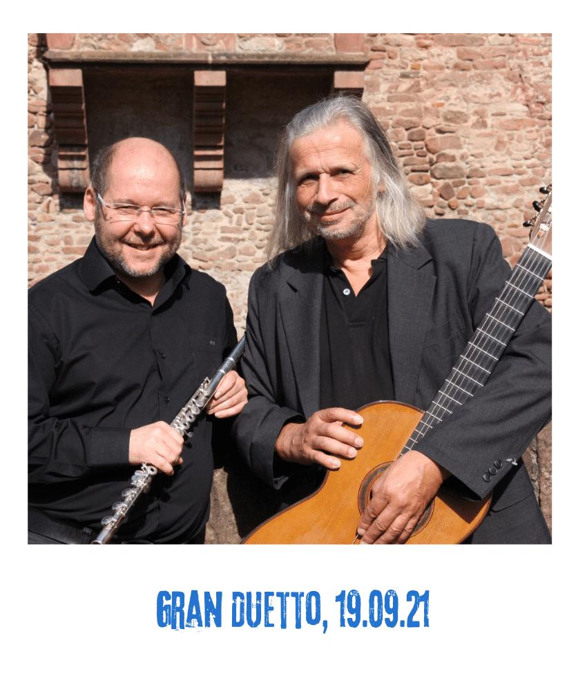 Spielplatz der Kulturen - Programmpunkt - Gran Duetto