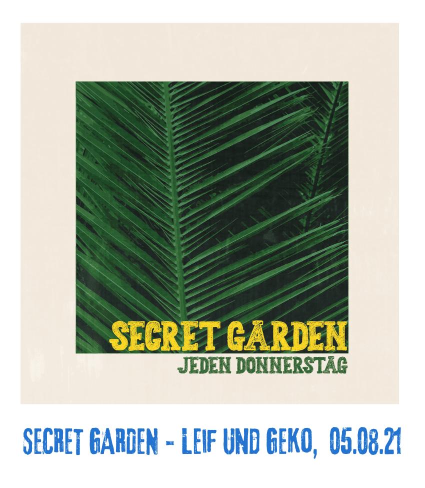 Spielplatz der Kulturen - Programmpunkt - Secret Garden 05.08.21