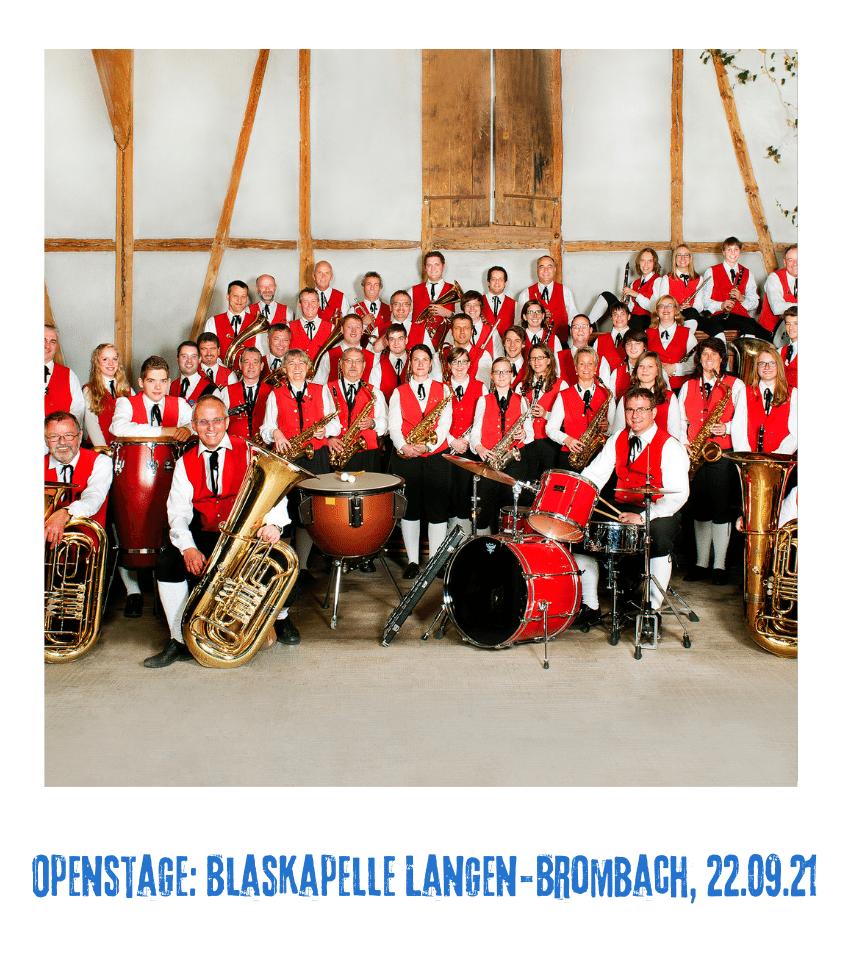 Spielplatz der Kulturen - Programmpunkt - Openstage Blaskapelle Langen-Brombach